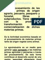Fundamentos de Agroindustria