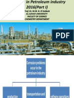 Corrosion in Petroleum Industry