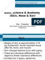 Basic Science & Anatomy (Skin, Nose & Ear)