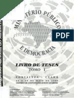 12 Congresso Nacional Do Ministerio Publico-Tomo i