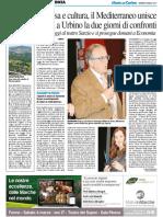 Impresa e cultura, il Mediterraneo unisce - Il Resto del Carlino del 3 marzo 2017