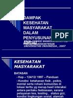 DAMPAK_KESEHATAN_MASYARAKAT_DALAM_PENYUSUNAN_AMDAL.ppt;filename= UTF-8''DAMPAK KESEHATAN MASYARAKAT DALAM PENYUSUNAN AMDAL