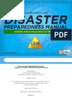 Local Government Unit Disaster Preparedness Manual