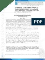 Modelos Cognitivos Y Cognitivo Sociales En La Prevencion