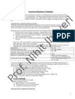 2. Summary of Profits and Gains of Business and Profession for Final CA -- 7 Pages.doc