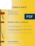 55B Krakatau Steel a and B