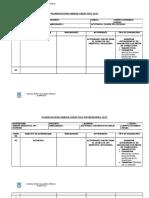 Planificación Unidad Didáctica 2017