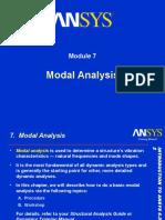 Ansys Modal