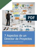 7 Aspectos a Considerar de Un Director de Proyectos