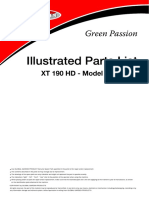 Traktior XT 190 HD_katalog Náhradních Dílů 2008