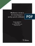 Modernas Técnicas de Investigação e Justiça Penal Colaborativa