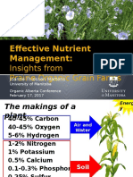 Effective Nutrient Management - Joanne Thiessen Martens