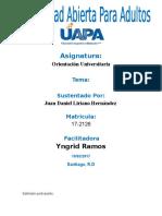 Tarea-5-Orientacion-Universitaria Juan Daniel Liriano H