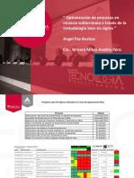 Optimización de procesos en mineria subteranea a traves de la metodologia lean six sigma.pdf