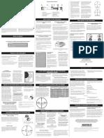 Manual de Usuario Del Uso de La Mira Telescópica