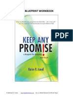 Keep ANY Promise Life Blueprint Workboook August 9 2008