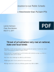 Privatization Westchester Pta 3.4.17