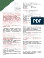 Regência Verbal e Nominal - Uso Da Crase - Gabarito