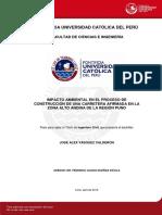 Vasquez Jose Impacto Ambiental Proceso Construccion