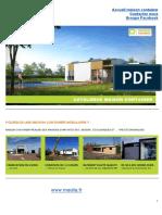 Catalogue Maison Container
