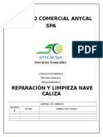 Pro-seg-Any-001 Rev.0 Reparacion y Limpieza Nave Caliza