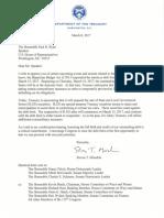 Treasury Secretary Steve Mnuchin asks Congress to raise debt limit