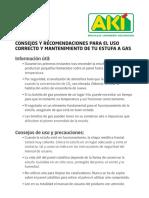 Cómo mantener una estufa de gas.pdf
