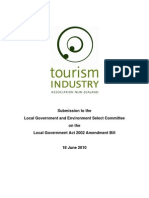 Tourism Industry Association Local Government Act 2002 Submission