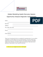 Hidden Marketing Assets Discovery Session Rev 030717