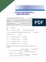 Induccion Matematica y Recursividad