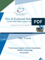 NexG Exuberant Solutions Pvt Ltd - Final