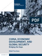 China, Economic Development, and Global Security