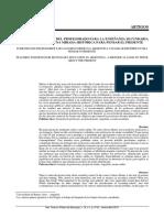 Posiciones Docentes Del Profesorado Para La Enseñanza Secundaria en La Argentina (Birgin & Pineau)