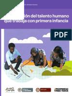 De Cero a Siempre (2014). Documento 19 - Cualificación de Talento Humano que Trabaja con Primera Infancia.pdf