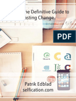 Habits the Definitive Guide to Lasting Change