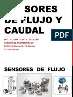 Sensores de Flujo y Caudal  - sensores