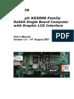 XG5000 Users Manual 1.0