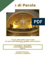 Sete di Parola -2a settimana Quaresima - Anno A.doc