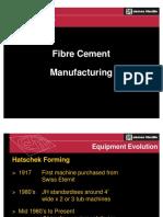 Fibre Cement Production