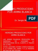 Heridas Producidas x Arma Blanca (1)