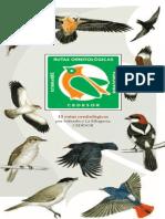 Rutas Ornitologicas Huesca