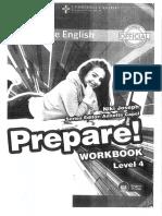 prepare work book