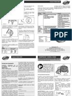 Compresor Portatil Libre de Aceite 1 5 HP Modelo 93000 345017