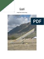 GOAT4 Ultralight Glider, Descriptive Drawings