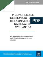 Congreso Gestion Cultural Avellaneda