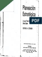 Planeacion Estrategica - George Steiner.pdf