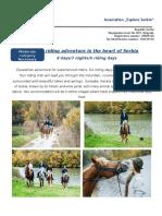 Horse riding Bukulja 8 days explore final konacno.doc