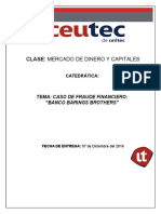 Informe Caso de Fraude Financiero - Banco Barings Brothers1