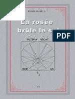 Roger Guasco - La Rosee Brule Le Sel