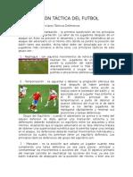 Acción Táctica Del Futbol